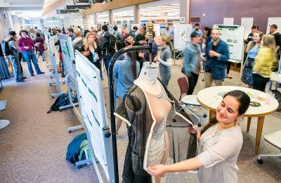 Students present research at HSU's annual IdeaFest